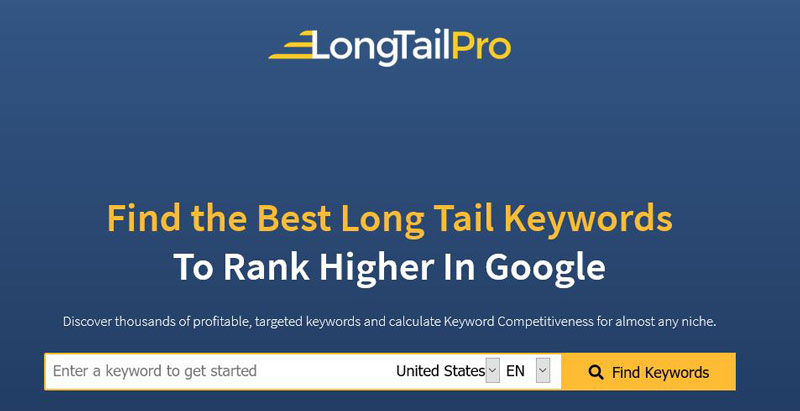 long tail pro keyword tool